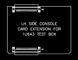 37 Pin Side Console Extender Card