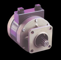 1U128B Rotary Vane Air Pump